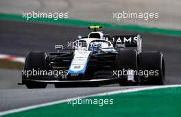 Nicholas Latifi (CDN) Williams Racing FW43. 25.10.2020. Formula 1 World Championship, Rd 12, Portuguese Grand Prix, Portimao, Portugal, Race Day.