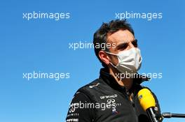 Cyril Abiteboul (FRA) Renault Sport F1 Managing Director. 24.10.2020. Formula 1 World Championship, Rd 12, Portuguese Grand Prix, Portimao, Portugal, Qualifying Day.