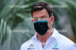 Toto Wolff (GER) Mercedes AMG F1 Shareholder and Executive Director. 25.09.2020. Formula 1 World Championship, Rd 10, Russian Grand Prix, Sochi Autodrom, Sochi, Russia, Practice Day.