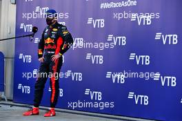 Max Verstappen (NLD) Red Bull Racing in parc ferme. 27.09.2020. Formula 1 World Championship, Rd 10, Russian Grand Prix, Sochi Autodrom, Sochi, Russia, Race Day.