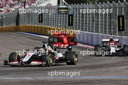 Romain Grosjean (FRA) Haas F1 Team VF-20. 27.09.2020. Formula 1 World Championship, Rd 10, Russian Grand Prix, Sochi Autodrom, Sochi, Russia, Race Day.