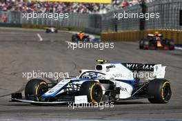Nicholas Latifi (CDN) Williams Racing FW43. 27.09.2020. Formula 1 World Championship, Rd 10, Russian Grand Prix, Sochi Autodrom, Sochi, Russia, Race Day.