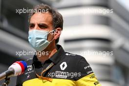 Cyril Abiteboul (FRA) Renault Sport F1 Managing Director. 26.09.2020. Formula 1 World Championship, Rd 10, Russian Grand Prix, Sochi Autodrom, Sochi, Russia, Qualifying Day.