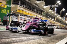 Lance Stroll (CDN) Racing Point F1 Team RP20. 04.12.2020. Formula 1 World Championship, Rd 16, Sakhir Grand Prix, Sakhir, Bahrain, Practice Day