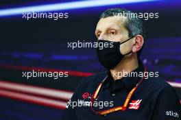 Guenther Steiner (ITA) Haas F1 Team Prinicipal in the FIA Press Conference. 04.12.2020. Formula 1 World Championship, Rd 16, Sakhir Grand Prix, Sakhir, Bahrain, Practice Day
