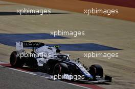 Nicholas Latifi (CDN) Williams Racing FW43. 04.12.2020. Formula 1 World Championship, Rd 16, Sakhir Grand Prix, Sakhir, Bahrain, Practice Day