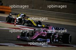 Sergio Perez (MEX) Racing Point F1 Team RP19. 06.12.2020. Formula 1 World Championship, Rd 16, Sakhir Grand Prix, Sakhir, Bahrain, Race Day.