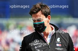 Toto Wolff (GER) Mercedes AMG F1 Shareholder and Executive Director. 12.07.2020. Formula 1 World Championship, Rd 2, Steiermark Grand Prix, Spielberg, Austria, Race Day.
