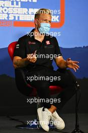 Kevin Magnussen (DEN) Haas F1 Team in the FIA Press Conference. 09.07.2020. Formula 1 World Championship, Rd 2, Steiermark Grand Prix, Spielberg, Austria, Preparation Day.