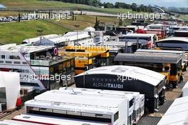 Paddock atmosphere. 11.09.2020. Formula 1 World Championship, Rd 9, Tuscan Grand Prix, Mugello, Italy, Practice Day.