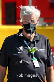 Matthew Savage, Dorilton Capital Chairman - Williams Racing Director on the grid. 13.09.2020. Formula 1 World Championship, Rd 9, Tuscan Grand Prix, Mugello, Italy, Race Day.