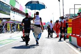George Russell (GBR) Williams Racing on the grid. 13.09.2020. Formula 1 World Championship, Rd 9, Tuscan Grand Prix, Mugello, Italy, Race Day.