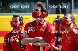 Mattia Binotto (ITA) Ferrari Team Principal on the grid. 13.09.2020. Formula 1 World Championship, Rd 9, Tuscan Grand Prix, Mugello, Italy, Race Day.