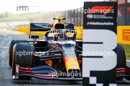 Third placed Alexander Albon (THA) Red Bull Racing RB16 in parc ferme. 13.09.2020. Formula 1 World Championship, Rd 9, Tuscan Grand Prix, Mugello, Italy, Race Day.
