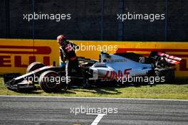 Kevin Magnussen (DEN) Haas VF-20 crashed out of the race. 13.09.2020. Formula 1 World Championship, Rd 9, Tuscan Grand Prix, Mugello, Italy, Race Day.