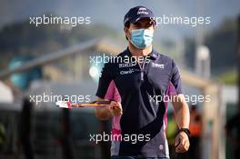 Sergio Perez (MEX) Racing Point F1 Team. 13.09.2020. Formula 1 World Championship, Rd 9, Tuscan Grand Prix, Mugello, Italy, Race Day.