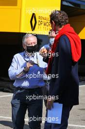 John Elkann (ITA) FIAT Chrysler Automobiles Chairman with Jean Todt (FRA) FIA President. 13.09.2020. Formula 1 World Championship, Rd 9, Tuscan Grand Prix, Mugello, Italy, Race Day.