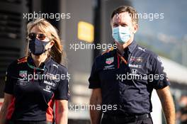 Christian Horner (GBR) Red Bull Racing Team Principal. 13.09.2020. Formula 1 World Championship, Rd 9, Tuscan Grand Prix, Mugello, Italy, Race Day.