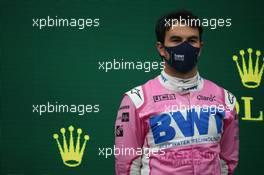 2nd place Sergio Perez (MEX) Racing Point F1 Team RP19. 15.11.2020. Formula 1 World Championship, Rd 14, Turkish Grand Prix, Istanbul, Turkey, Race Day.