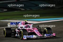 Lance Stroll (CDN) Racing Point F1 Team RP20. 11.12.2020. Formula 1 World Championship, Rd 17, Abu Dhabi Grand Prix, Yas Marina Circuit, Abu Dhabi, Practice Day.