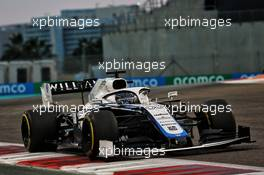 George Russell (GBR) Williams Racing FW43. 13.12.2020. Formula 1 World Championship, Rd 17, Abu Dhabi Grand Prix, Yas Marina Circuit, Abu Dhabi, Race Day.
