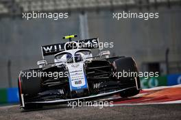 Nicholas Latifi (CDN) Williams Racing FW43. 12.12.2020. Formula 1 World Championship, Rd 17, Abu Dhabi Grand Prix, Yas Marina Circuit, Abu Dhabi, Qualifying Day.
