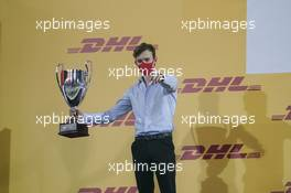 Callum Ilott (GBR) Uni-Virtuosi Racing celebrates finishing second in the 2020 FIA Formula 2 Championship. 06.12.2020. FIA Formula 2 Championship Prize Giving Ceremony, Sakhir, Bahrain, Sunday.