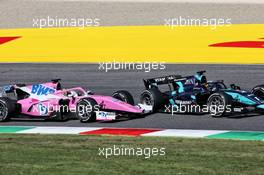 Juri Vips (EST) Dams and Artem Markelov (RUS) HWA RACELAB battle for position.