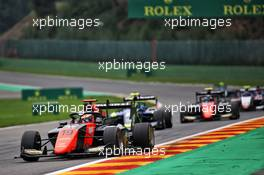 Lukas Dunner (AUT) MP Motorsport. 30.08.2020. Formula 3 Championship, Rd 7, Spa-Francorchamps, Belgium, Sunday.