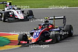 David Beckmann (GER) Trident. 29.08.2020. Formula 3 Championship, Rd 7, Spa-Francorchamps, Belgium, Saturday.