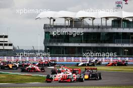 Logan Sargeant (USA) PREMA Racing at the start of the race. 01.08.2020. FIA Formula 3 Championship, Rd 4, Silverstone, England, Saturday.