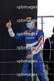 Alexander Smolyar (RUS) ART celebrates on the podium.                               