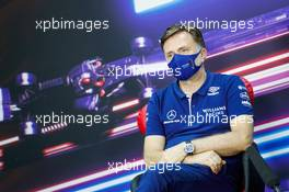 Jost Capito (GER) Williams Racing Chief Executive Officer in the FIA Press Conference. 26.03.2021. Formula 1 World Championship, Rd 1, Bahrain Grand Prix, Sakhir, Bahrain, Practice Day