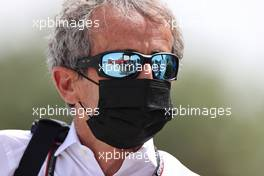 Alain Prost (FRA), Alpine Racing 25.03.2021. Formula 1 World Championship, Rd 1, Bahrain Grand Prix, Sakhir, Bahrain, Preparation Day.