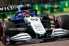 George Russell (GBR) Williams Racing FW43B. 17.04.2021. Formula 1 World Championship, Rd 2, Emilia Romagna Grand Prix, Imola, Italy, Qualifying Day.