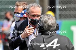 Stefano Domenicali (ITA) Formula One President and CEO on the grid. 02.05.2021. Formula 1 World Championship, Rd 3, Portuguese Grand Prix, Portimao, Portugal, Race Day.
