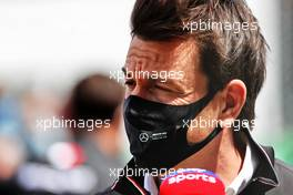 Toto Wolff (GER) Mercedes AMG F1 Shareholder and Executive Director on the grid. 02.05.2021. Formula 1 World Championship, Rd 3, Portuguese Grand Prix, Portimao, Portugal, Race Day.