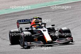Sergio Perez (MEX) Red Bull Racing RB16B. 02.05.2021. Formula 1 World Championship, Rd 3, Portuguese Grand Prix, Portimao, Portugal, Race Day.